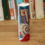 Unopened tube of ready-to-bake cinnamon rolls