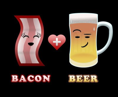 Image result for bacon beer