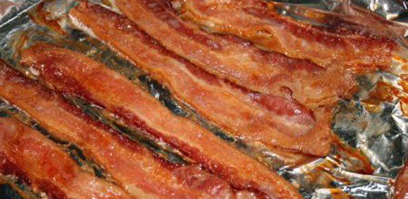 how to fix bacon in the oven