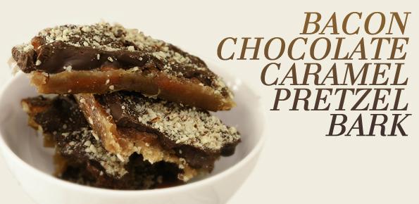 Chocolate Bacon Peanut Bark Recipe — Dishmaps