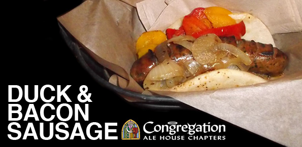 Duck and Bacon Sausage: Congregation Ale House - Bacon Today