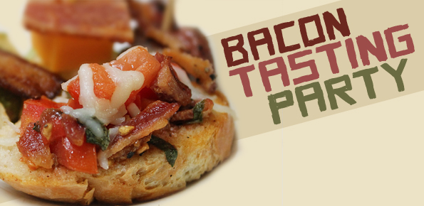 bacon-tasting-party