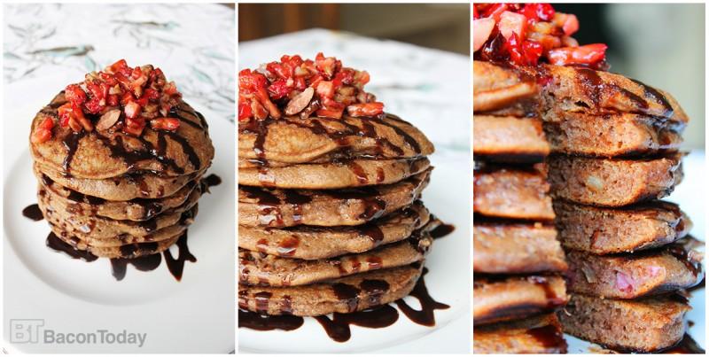 chocolate-strawberry-bacon-pancake-recipe