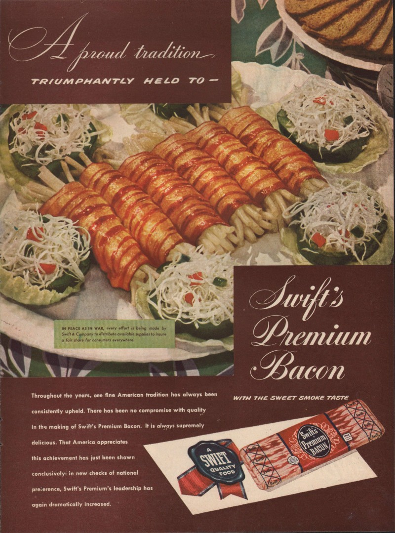 1946 bacon wraped around what_