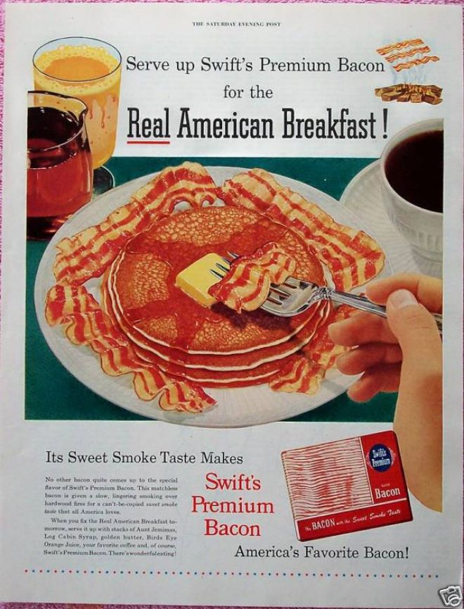 makin bacon pancakes!