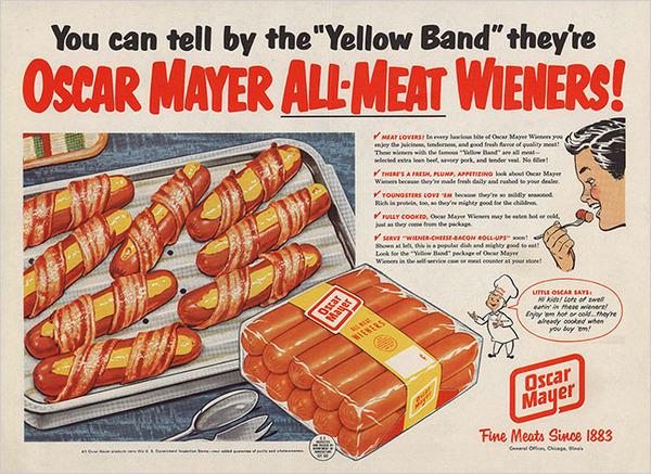 oscar mayer bacon-wrapped hot dogs