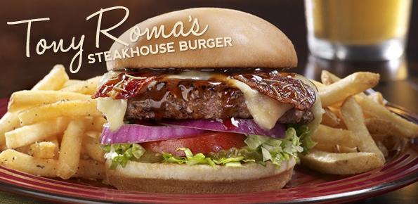 Tony Roma's Steakhouse Burger