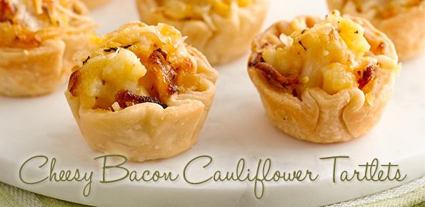 cheesy-bacon-cauliflower-tartlets