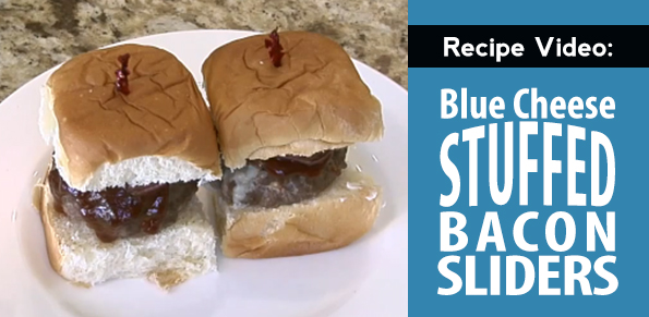 Blue Cheese Bacon Sliders recipe video