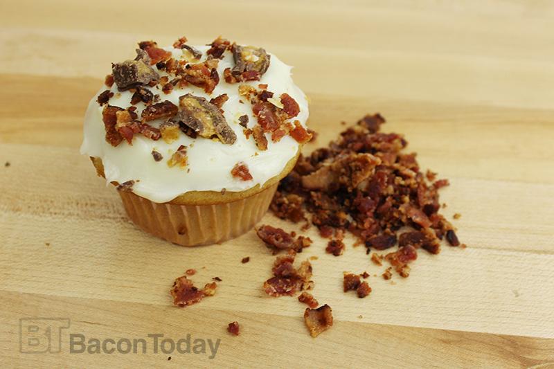 Bacon Cream Soda Toffee Cupcakes