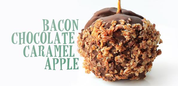 Bacon Chocolate Caramel Apples