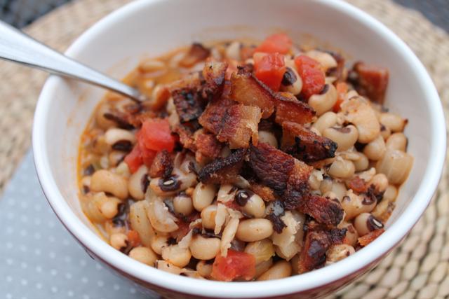 Bacon Black Eyed Peas