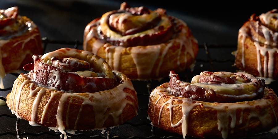hormel bacon wrapped cinnamon rolls