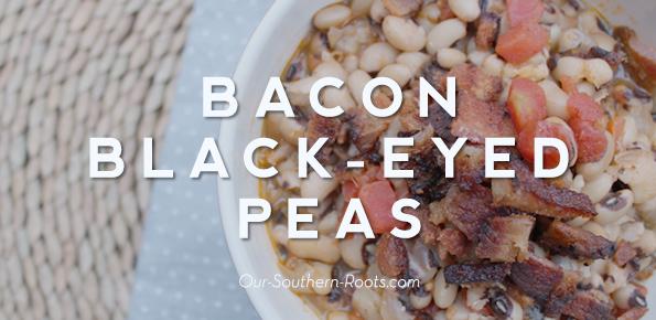 Bacon Black Eyes Peas