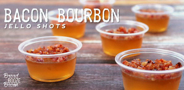 Bacon Bourbon Jello Shots