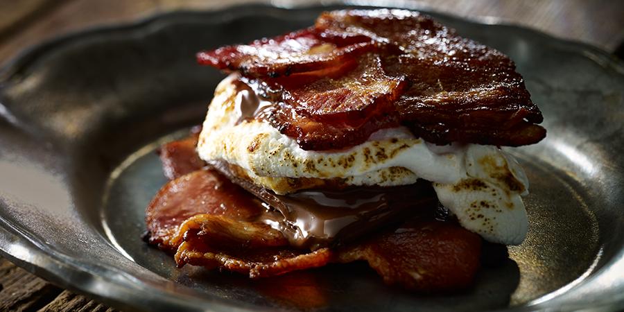 bacon s'mores smores