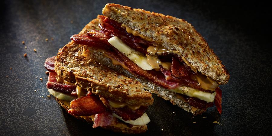 hormel bacon peanut butter banana elvis sandwich