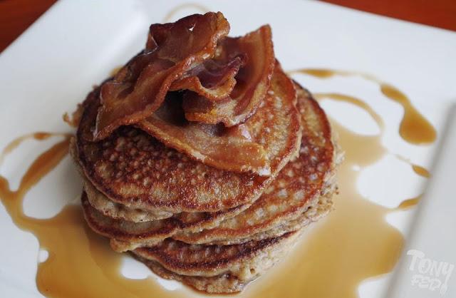 bacon paleo pancakes