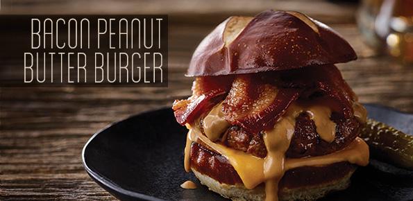 Bacon Peanut Butter Burger