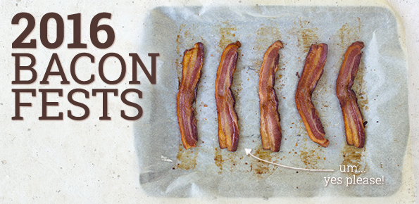 2016 Bacon Fests baconfest festivals