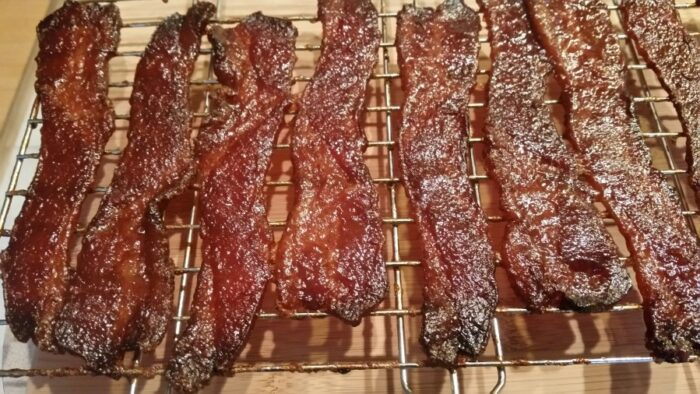 porcus infernum beer candied bacon