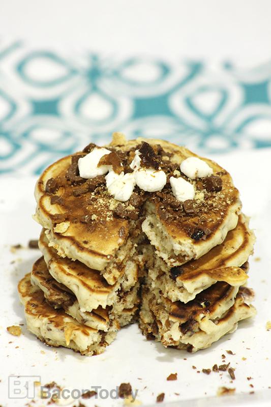 S'mores Bacon Pancakes