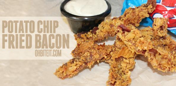 Potato Chip Fried Bacon