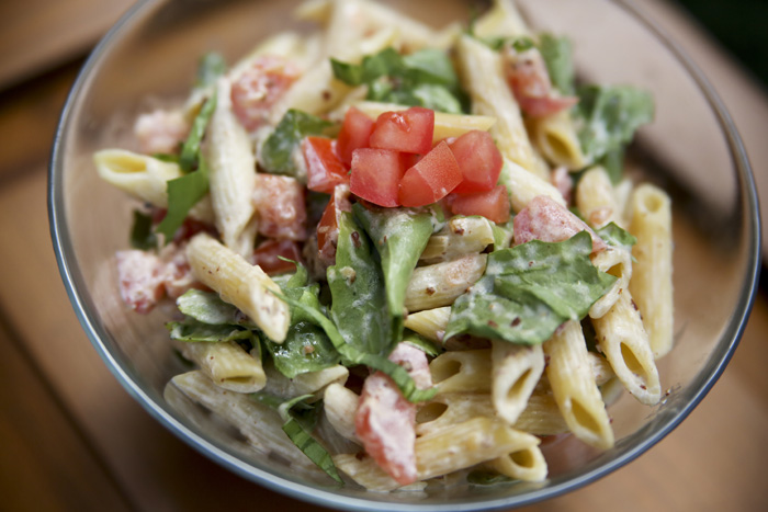 Bacon Jams BLT Pasta Salad