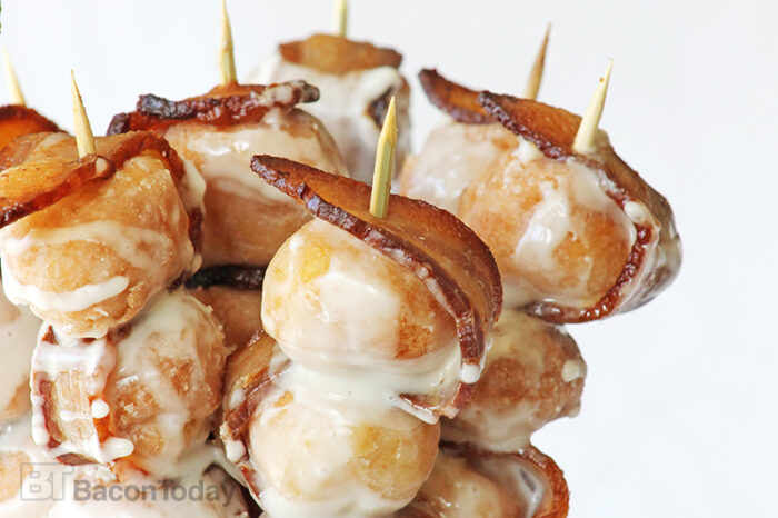Maple Bacon Donut Kabobs