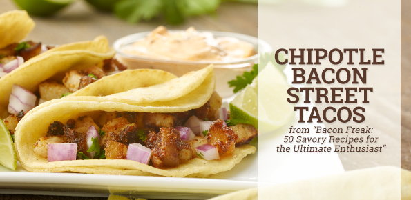Chipotle Bacon Street Tacos