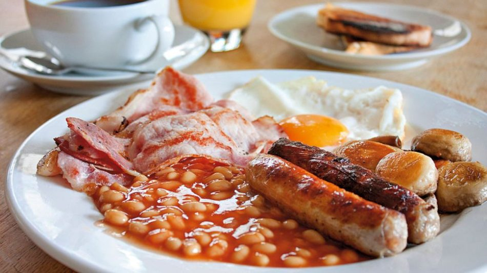 English Breakfast with Bacon