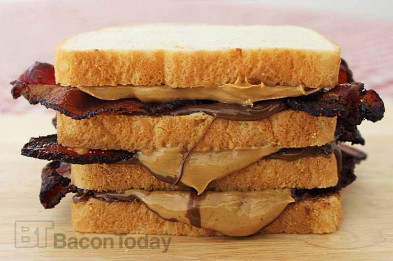 Bacon Peanutella Afternoon Snackwich