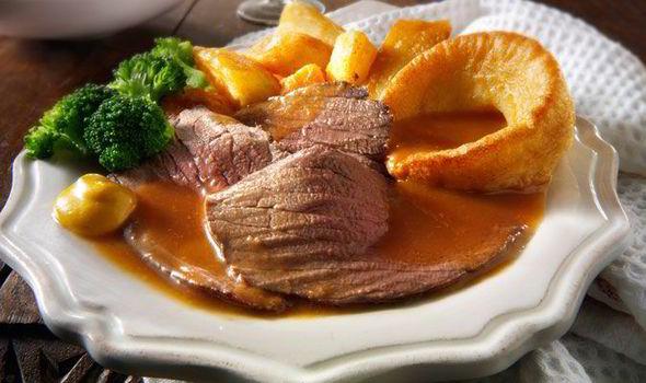 English Sunday Roast