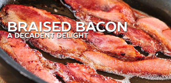 Braised Bacon, A Decadent Delight