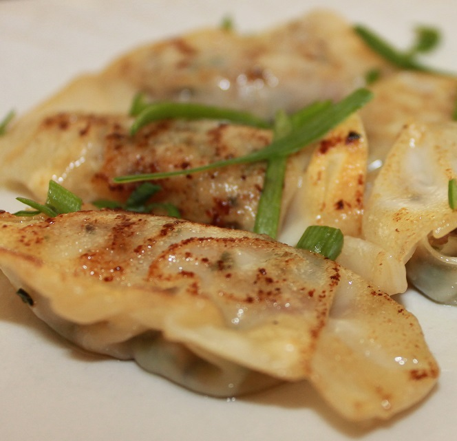 Pan Fried Pot Stickers