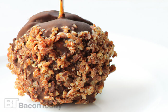 Bacon Chocolate Caramel Apple